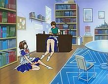 Video mangas sexe avec une étudiante et son copain